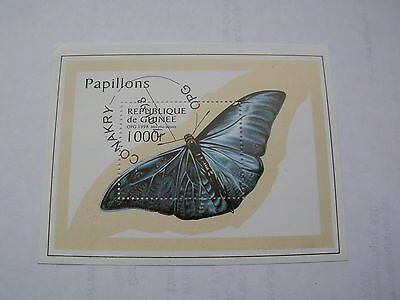 Guinea  butterfly insect 1998