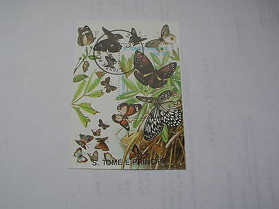 St Thomas butterfly sheet 1989 no 2