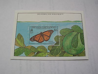 Grenada butterfly insect 1990
