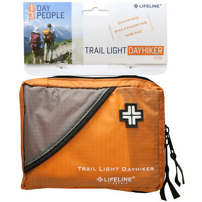 Lifeline Trail Light Day Hiker Durable Rip-Stop Bag First Aid Kit - 57 Pieces
