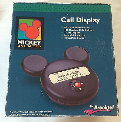 Disney Mickey Mouse Call Display Mouse Ears By Mickey Unlimited