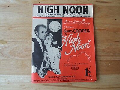 High Noon - Sheet Music