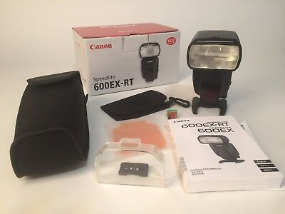 Canon 600EX-RT Shoe Mount Flash. Original box