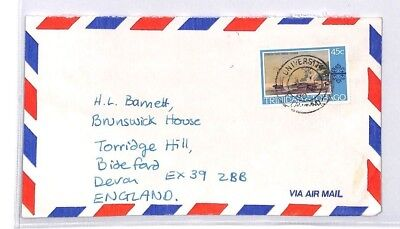 BQ268 Trinidad and Tobago Devon Great Britain Airmail Cover {samwells}PTS