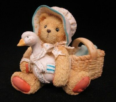 Cherished Teddies KATIE A Friend Always Knows When You need A Hug EUC FREE SHIP