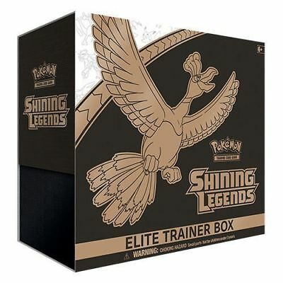 Pokemon TCG Shining Legends Elite Trainer Box New Sealed
