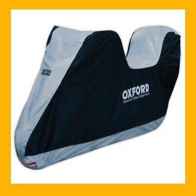 Oxford Aquatex 2017 Motorcycle Cover Large Size Topbox  Cv205 Tracked Postage