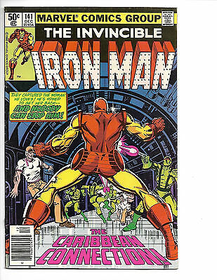 Iron Man # 141 - Bronze Age - Solid FN- (5.5) Mid Grade