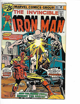 Iron Man # 85 - Bronze Age - Solid FN+ (6.5) Mid Grade