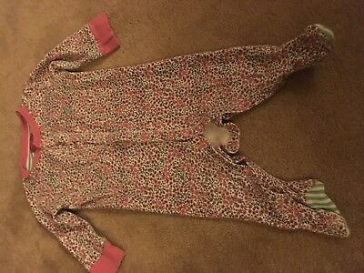 joules 3-6 months Girls Sleepsuit