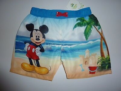DISNEY Mickey Mouse Swim Shorts NWT