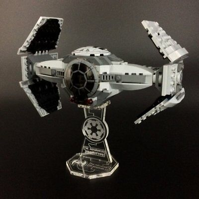 Display stand for LEGO Star Wars: TIE Advanced Prototype (75082)