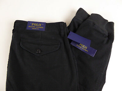 Polo Ralph Lauren Stretch Straight Fit Jogger Cargo Pant $98 Chino Twill Joggers