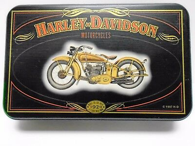 1997 Harley Davidson Collector Cards With Tin