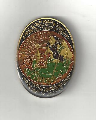 1984 Krewe Endymion Multi Color Oval Cloisonne Mardi Gras Doubloon Coin