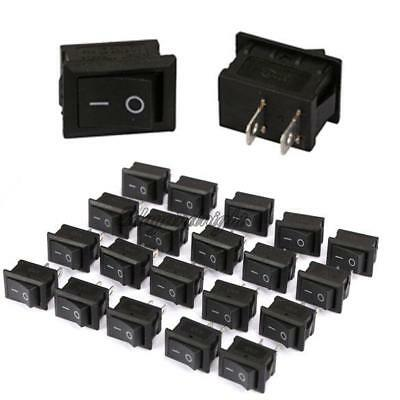 20x 2 Pin 2Position OFF/ON Boat Car Rocker Water Dispenser Square Rocker Switch