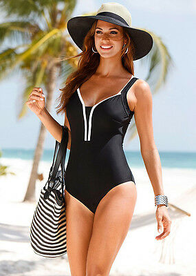 Womens One Piece Bikini Set Monokini Swimsuit Swimwear Beachwear Push Up Bathing