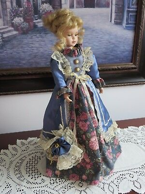 Beautiful handmade '' Victorian '' Porcelain Doll -