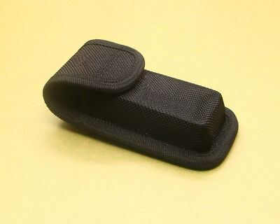 New Hight quality Black Nylon Sheath For Folding Pocket Knife Pouch Case Outdoor