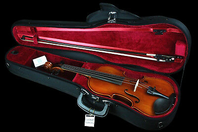SAMUEL EASTMAN - Student VL80 1/10 Size Violin Outfit *NEW* bow, case, warranty