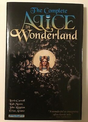 The Complete Alice in Wonderland  HARDCOVER FIRST PRINT SEE PICS!