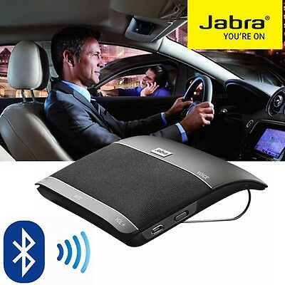 Bluetooth In Car Speakerphone JABRA FREEWAY Wireless Handsfree Car Kit Speaker