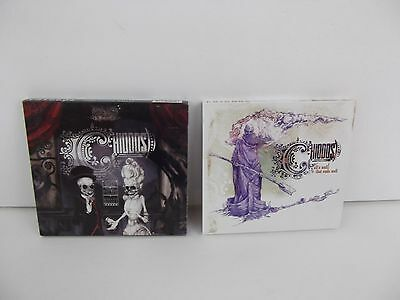 CHIODOS Lot of 2 Metal Music CD's Bone Palace Ballet, All's Well That Ends Well