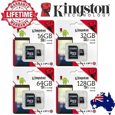 SD Card SDHC SDXC Micro 32GB 64GB 128G 256G 16G Kingston Class 10 Camera Memory