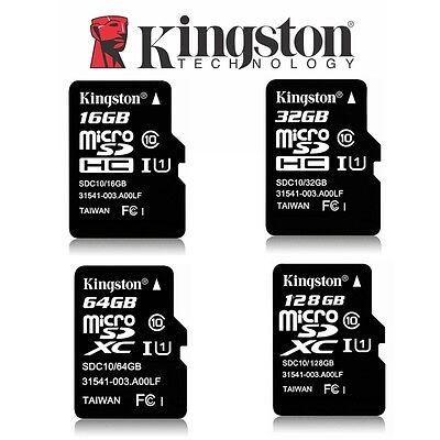 Micro SD Card 32GB 64GB 128GB 256G 16GB Kingston Class 10 SDHC SDXC Memory Phone