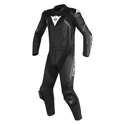 Dainese Avro D2 Black / Black / Anthracite Motorbike Two Piece Suit | All Sizes