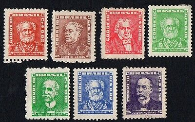 Brazil. 1955 -1964 Personalities. MLH