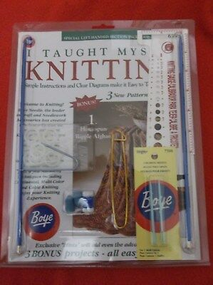 I Taught Myself to Crochet Kit #6398 Boye New In Package