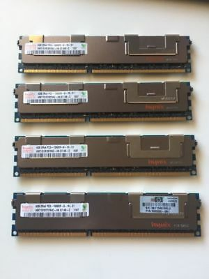 16GB Kit HYNIX PC3-10600R 1333MHz Registered DDR3 ECC Server Memory RAM