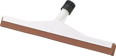 Carlisle 36693000 Flo-Pac Soft Double Foam Rubber Floor Squeegee with Plastic of