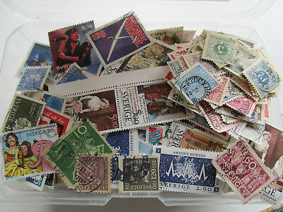 Sweden  2850 different stamps collection. Special Christmass price !