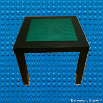 Lego themed baseplate construction table!  Kids Love it! White or black table!