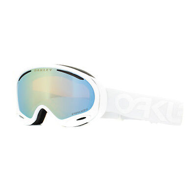 7c093d83891a Oakley Ski Goggles A Frame 2.0 OO7044-57 Factory Pilot Whiteout Prizm  Sapphire