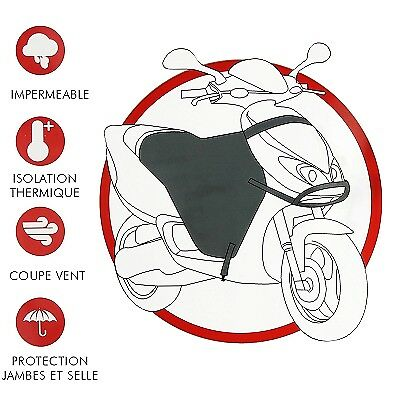 Tablier Protection Hiver Scooter Couvre Jambes Universel Froid pluie Prix Sympa