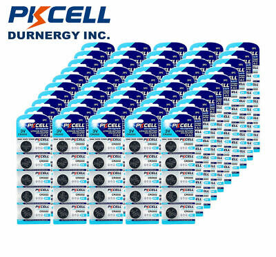 300x CR2032 3V WatchBatteries DL2032 CR 2032 Button Coin Cell Battery PKCELL