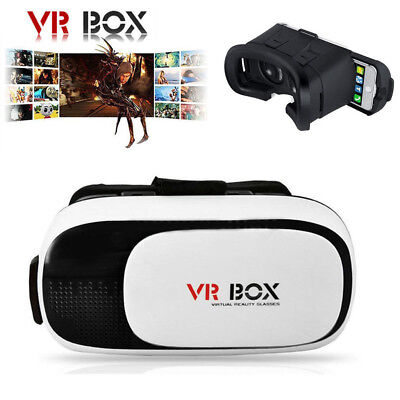 3D Glasses VR Box Headset Google Cardboard Virtual Reality for Android IOS Phone
