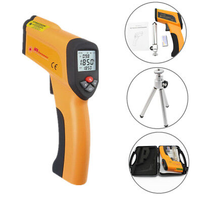 Non-Contact LCD Digital Infrared IR Laser Thermometer Gun Pyrometer ℃ or ℉ Mode