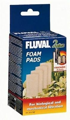 Fluval 2+ Plus Foam Pad Pack of 4 Replacement Filter Sponges Genuine