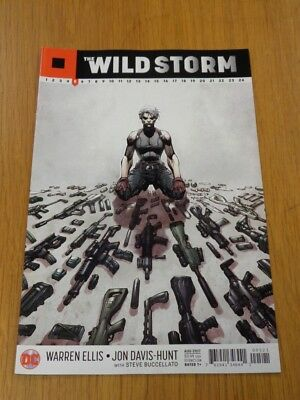 Wildstorm #5 Dc Comics Variant August 2017 Nm (9.4)