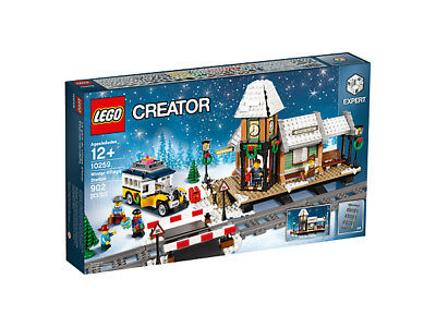 LEGO EXPERT Creator 10259 Winterlicher Bahnhof Winter Village Station