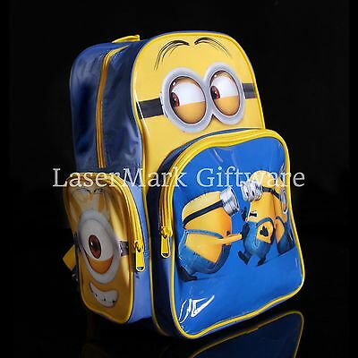 Brand new kids toddlers Minion backpack school bag Free Shipping