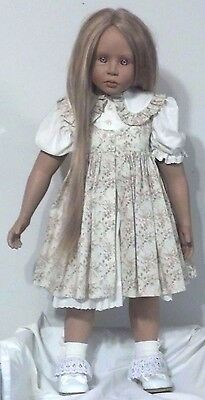 "Peggy Dey 1997 Vinyl Doll Heavenly Treasures 30"" ""jillian"" Doll Number 177/300"