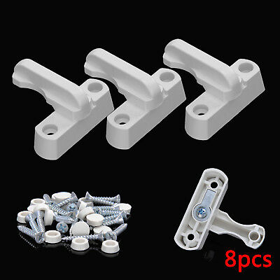 8pcs Sash Blocker Jammer UPVC Door Window Restrictor Lock Home Added Security UK