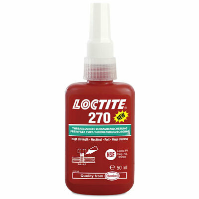 Loctite 270 High Strength Studlock 50ml