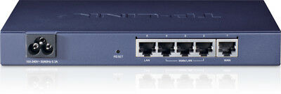 NEW TP-LINK TL-R470T+ Ethernet LAN Blue wired router TL-R470T+