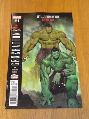 Generations Banner Hulk Totally Awesome Hulk #1 Marvel Comics Vf (8.0)
